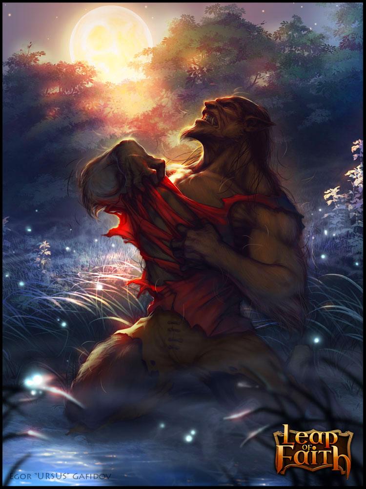 Blood Moon by EGOR-URSUS
