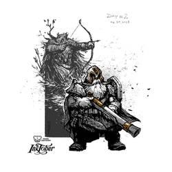 Dwarfs. Inktober 2018. Day 2 by EGOR-URSUS