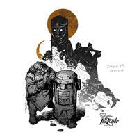 Dwarfs. Inktober 2018. Day 13 by EGOR-URSUS