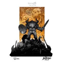 Dwarfs. Inktober 2018. Day 31 by EGOR-URSUS