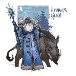 Ded Moroz by EGOR-URSUS