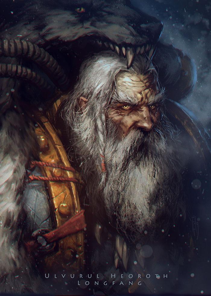 Ulvurul Heoroth Longfang by EGOR-URSUS