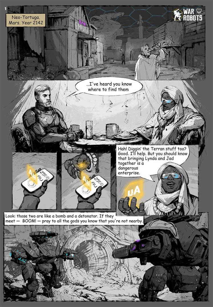 War Robots - Mini Comix 01-01 by EGOR-URSUS