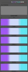 Spectrum Feral Character Meme BLANK by Zandwine
