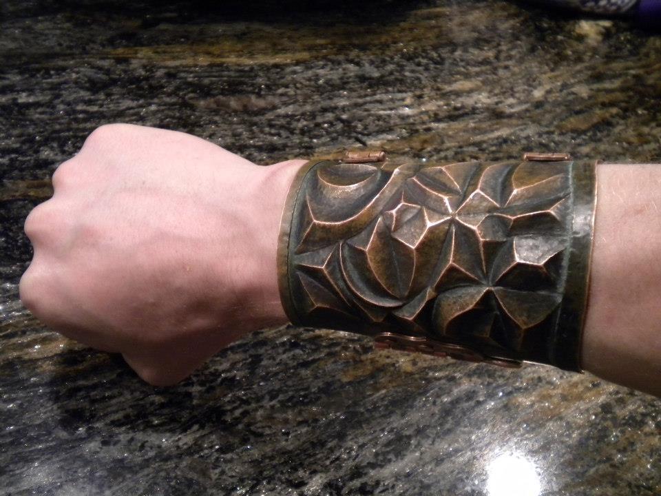 Copper Cuff 2 by CuSmith