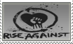 Rise Against Stamp 1 by KingBradders