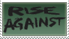 Rise Against Stamp 2 by KingBradders