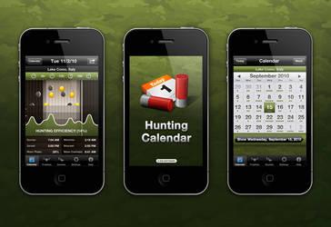 Hunting Calendar App