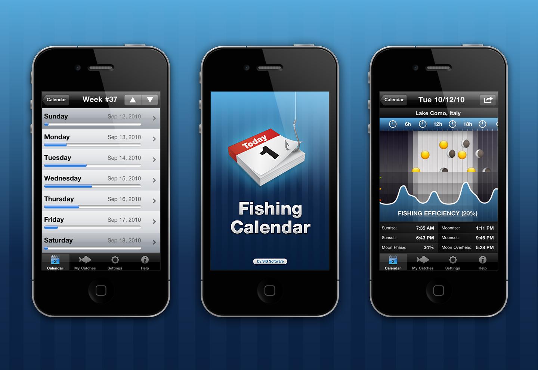 Calendar App Wallpaper Iphone : Fishing calendar app by jurev on deviantart