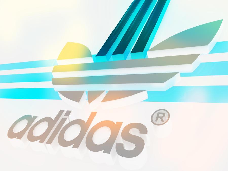 Adidas 3d logo design