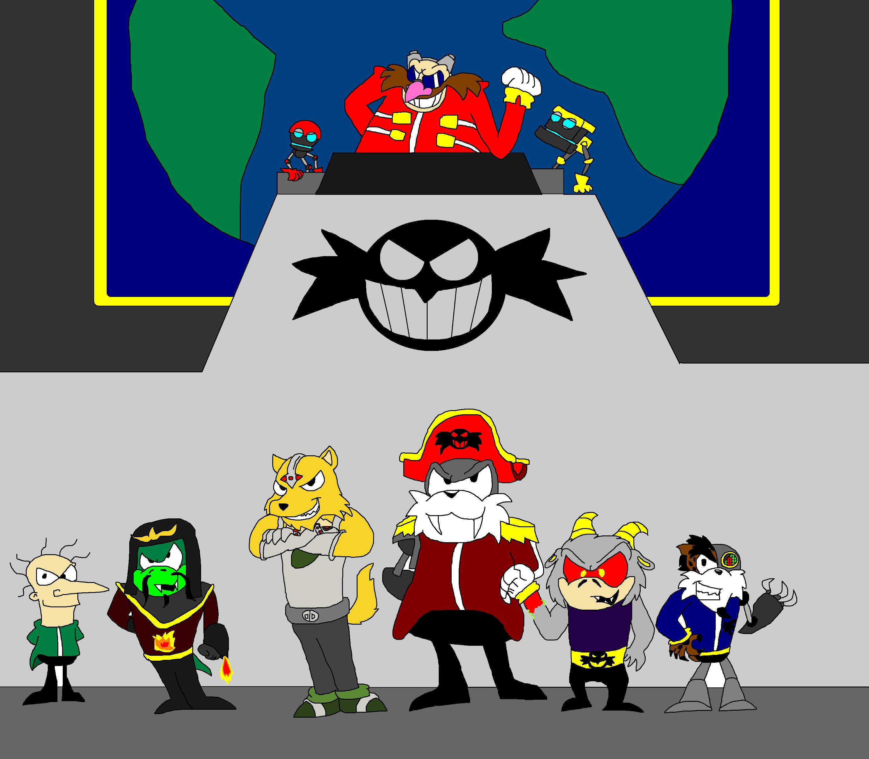 The Eggman Empire By Scurvypiratehog On Deviantart