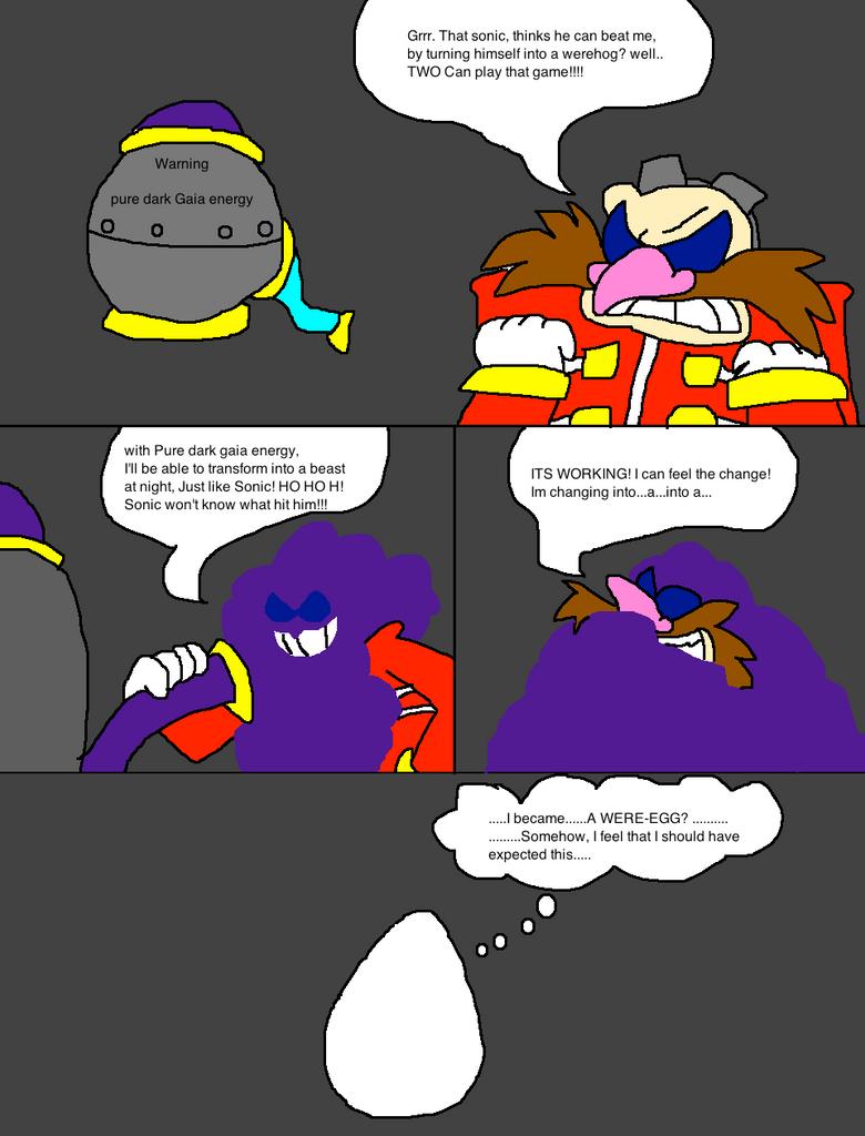Eggman unleashed by Scurvypiratehog