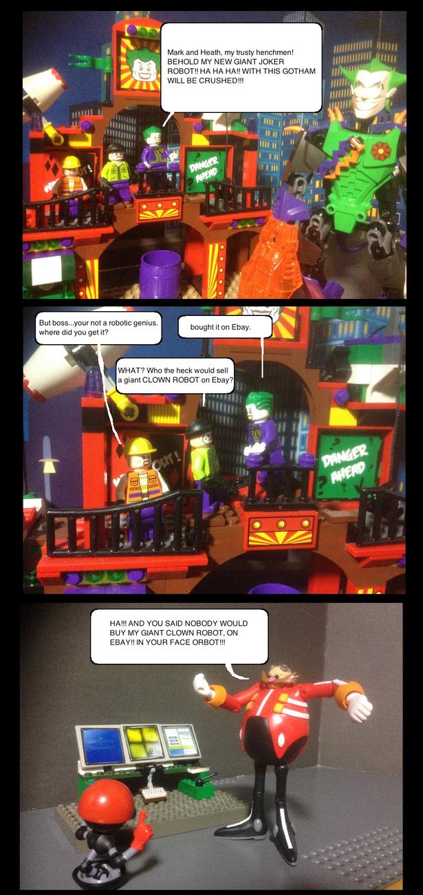Giant Clown robot by Scurvypiratehog