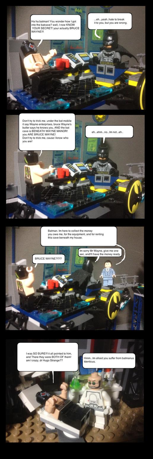 Batman's secret identity by Scurvypiratehog