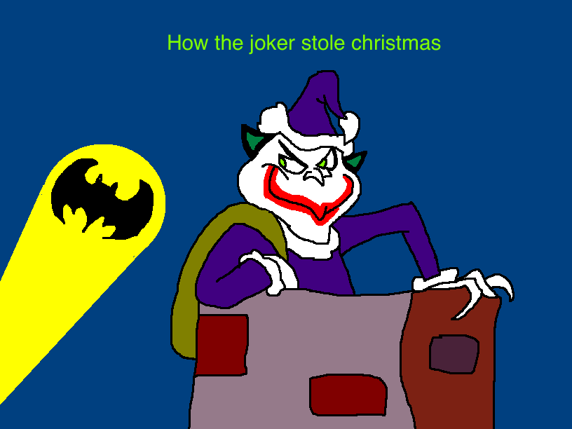How The Joker Stole Christmas by Scurvypiratehog on DeviantArt