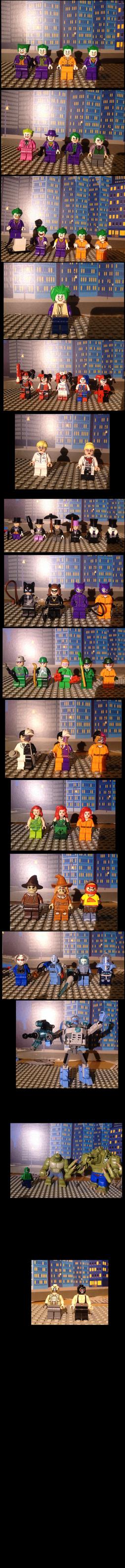 Lego Batman villains variants by Scurvypiratehog