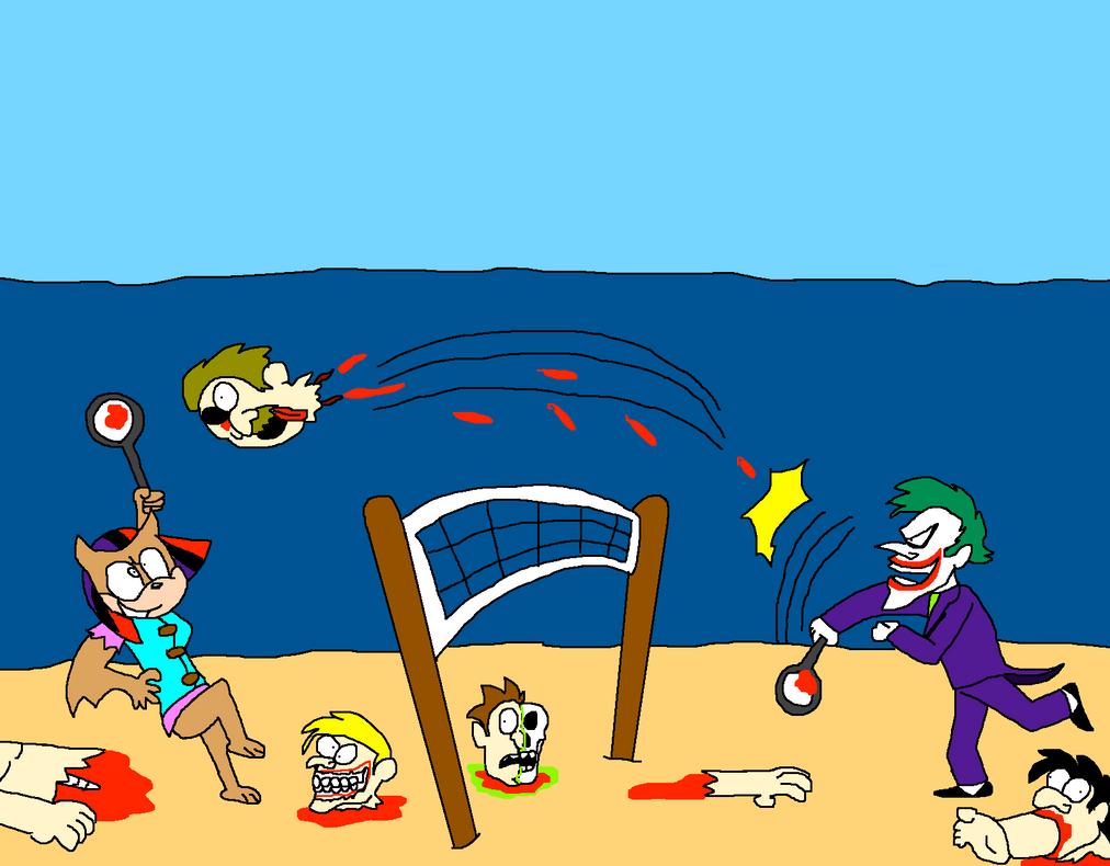 Fun between two friends by Scurvypiratehog