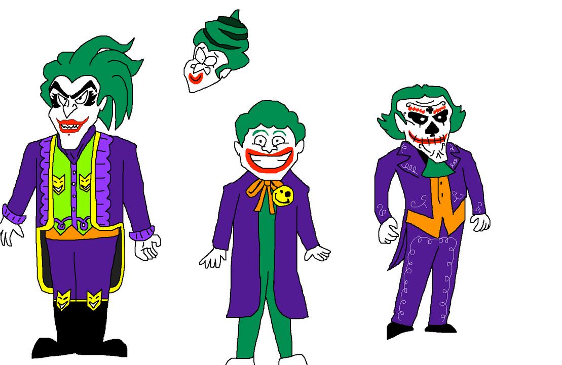 Even More Joker Designs by Scurvypiratehog