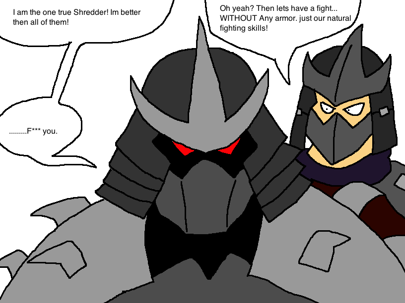 My Problems With The 2003 Shredder By Scurvypiratehog On Deviantart