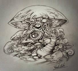 Cogumelo venenoso by renatocosta