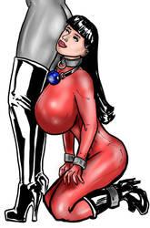 Submissive in Spandex by NatashaMilasevic