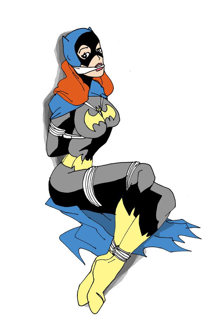 Batgirl Bound by Sofyan by Balrog1982