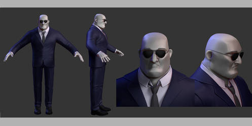 WIP Security Guard -Diploma Movie characters 1/3