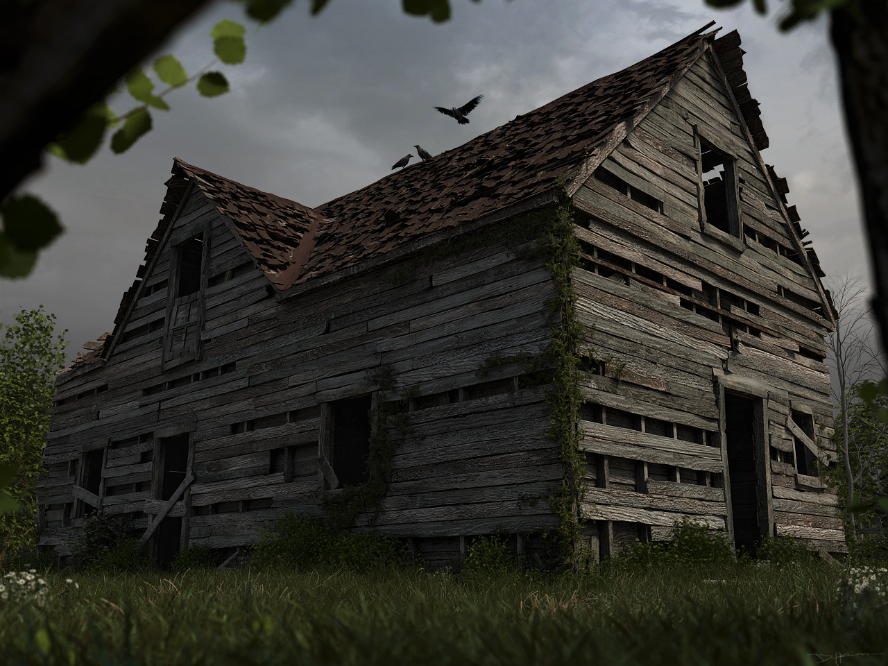 Old house by repawnd on deviantart for The classic house