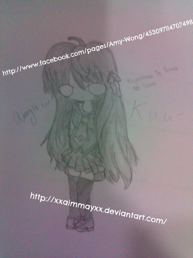 Kyoshiro To Towa No Sora - Kuu - *Fanart by xXAiMMayXx