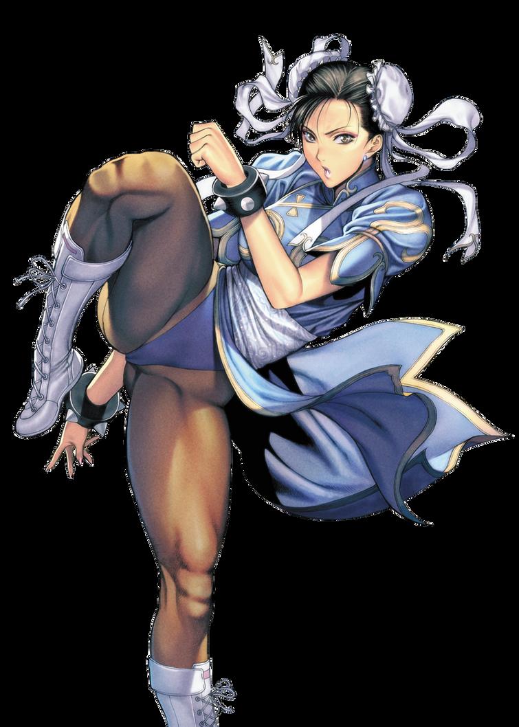 Chun-Li Render 3 by StarIkuto95