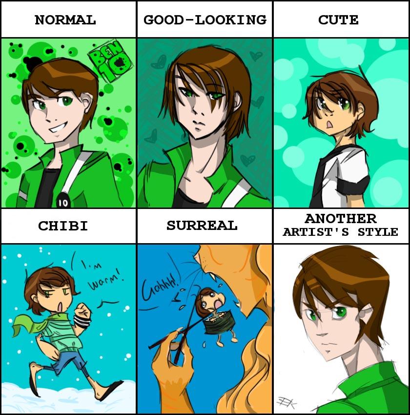 Ben 10 Style Meme By LittleKidsin On DeviantArt