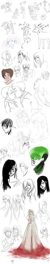 The 2nd half sketch dump