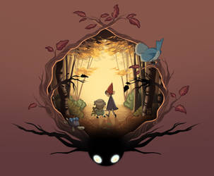 Over the Garden Wall by LittleKidsin
