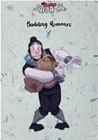 Pucca: Budding Romance Cover