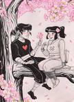 Heartober #2 Garu x Jing Jing