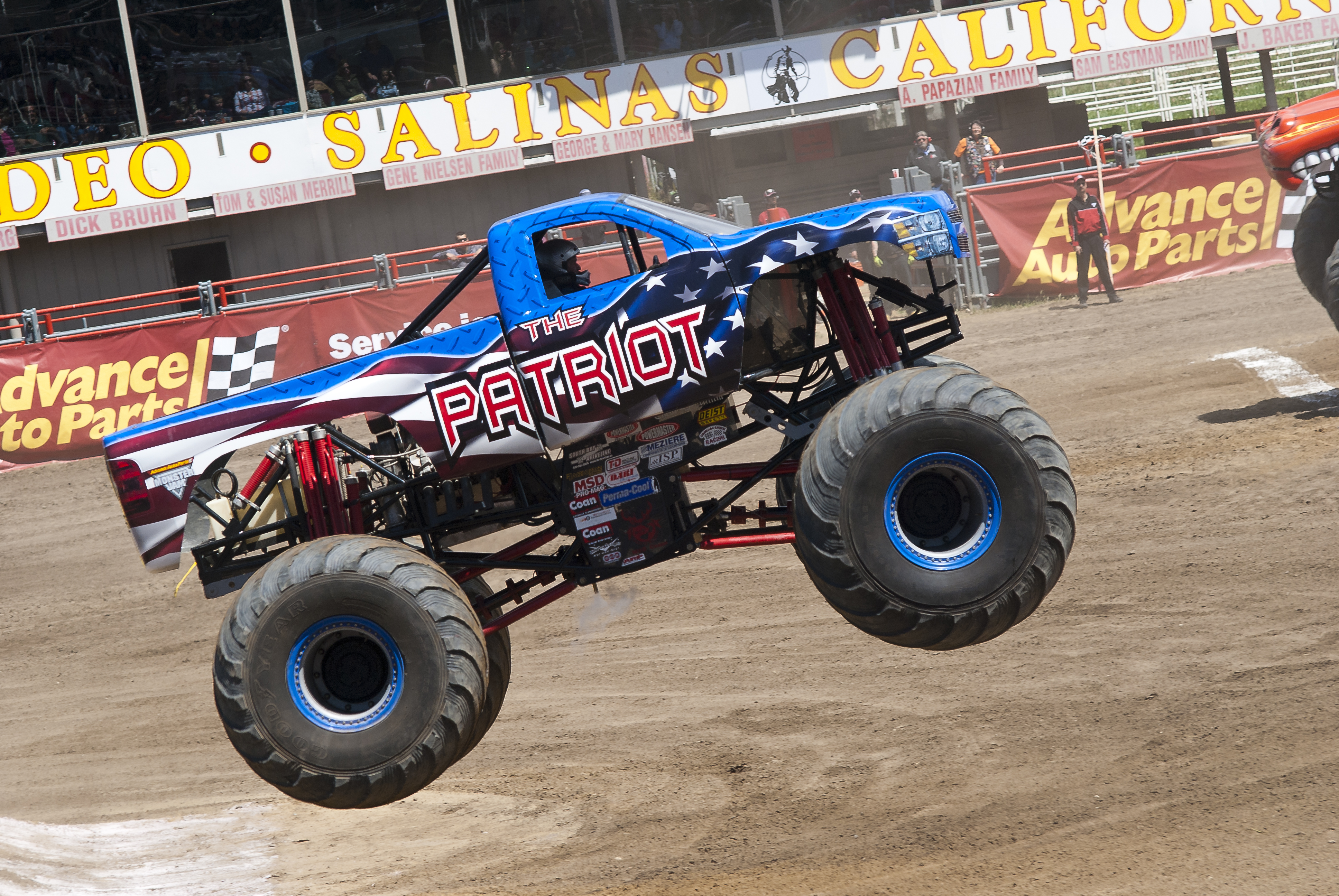 General Lee Monster Truck Monster truck the patriot by