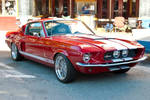 Shelby Mustang Ford Gt350 Red