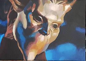 Nameless ghoul by SimonHagberg