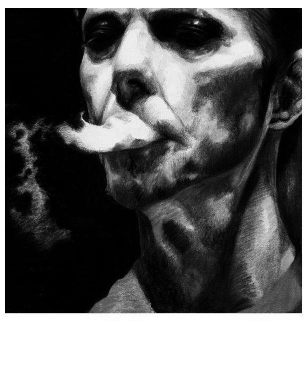 polaroid paranoid bowie. by KaileenaFarah