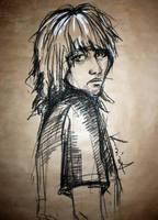 self-portrait numero uno. by KaileenaFarah