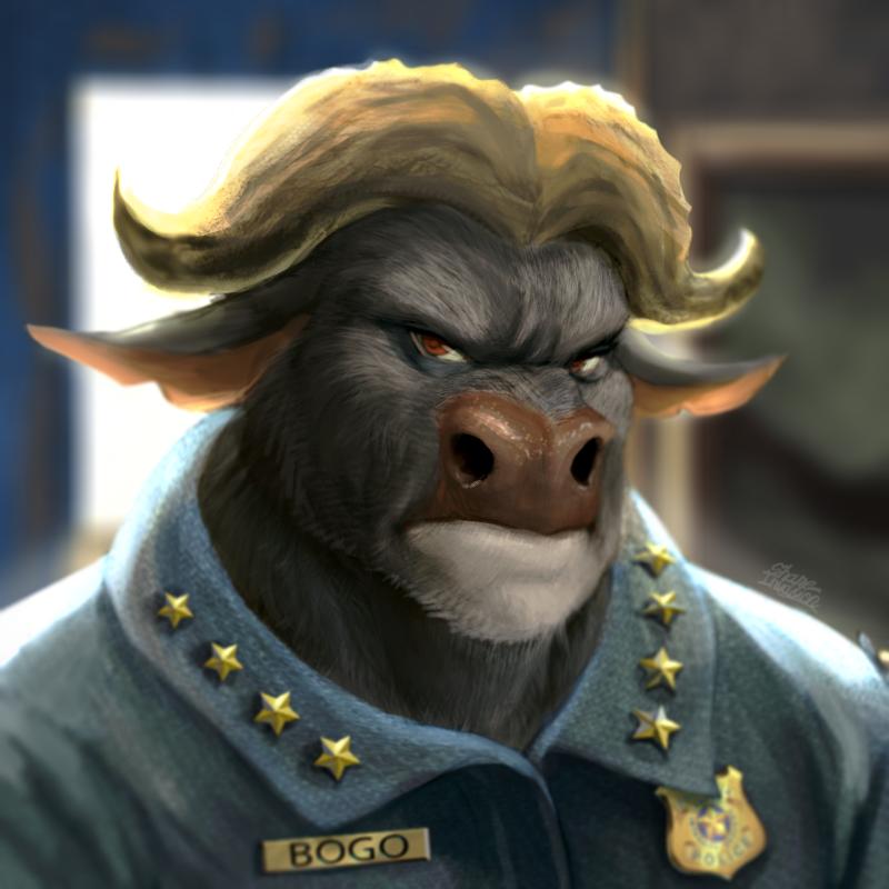 Chief Bogo by ShaneInvasion