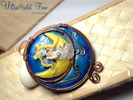 Polymer Clay -Neo queen Serenity by Crystarbor
