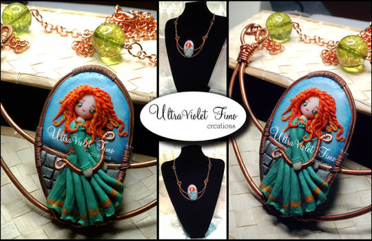 Polymer Clay -Merida (The Brave)