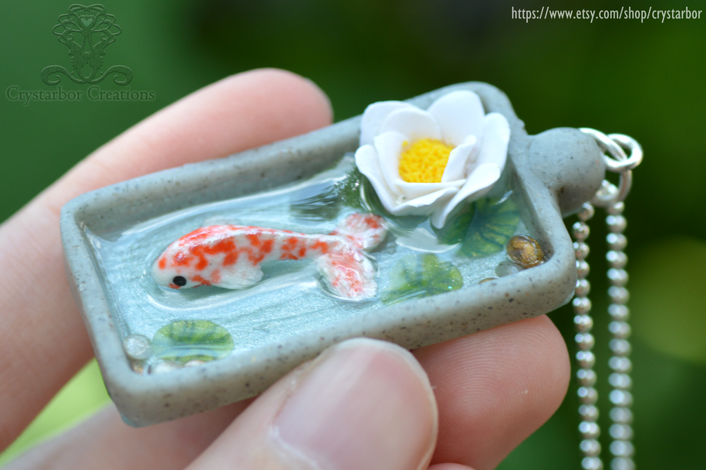 Japan Koi Fish Necklace
