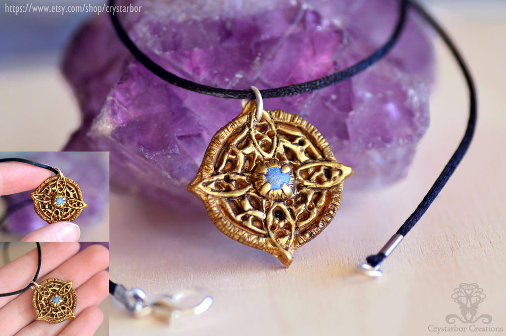 wearing the amulet of mara