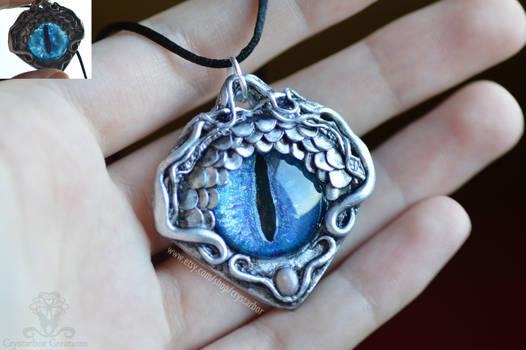Dragon Eye Necklace | Fantasy jewelry