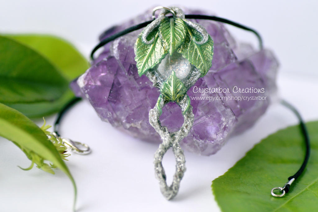 Elven leaf necklace woodland polymer clay by crystarbor on deviantart elven leaf necklace woodland polymer clay by crystarbor aloadofball Gallery