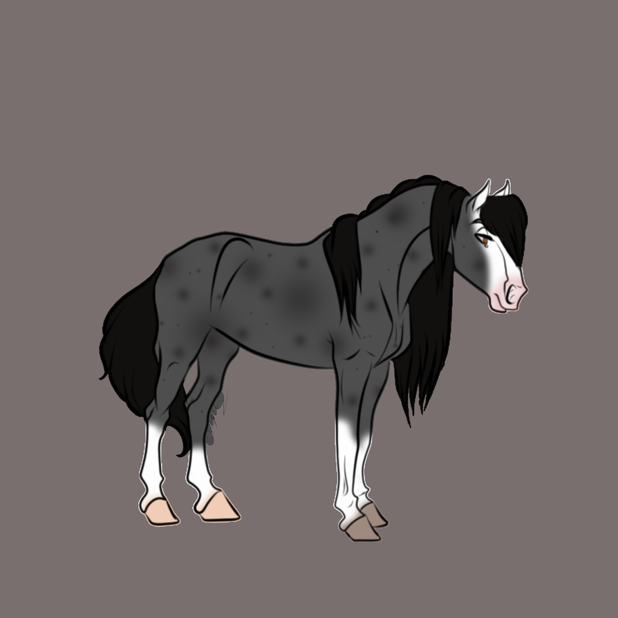 Horse 3 -open- by moonforests-stables