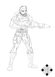 Punisher Signed by Stelios-Tomazos