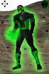Green Lantern - Powering up 1
